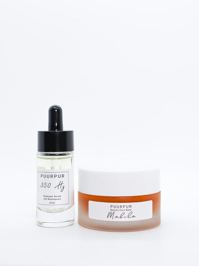 Lux Set -  MAHILA Beauty Facebalm & 350 Hz Hyaluronserum