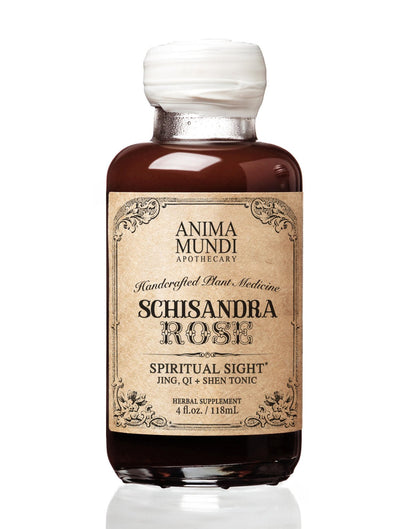 Schisandra Rose Elixir : Adaptogenic Superberry - Animamundi Herbals