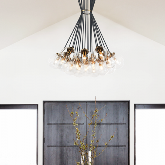 The Bougie Chandelier