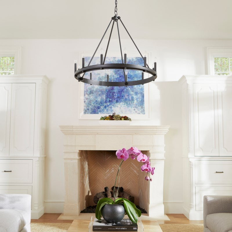Aura 12 Light Chandelier