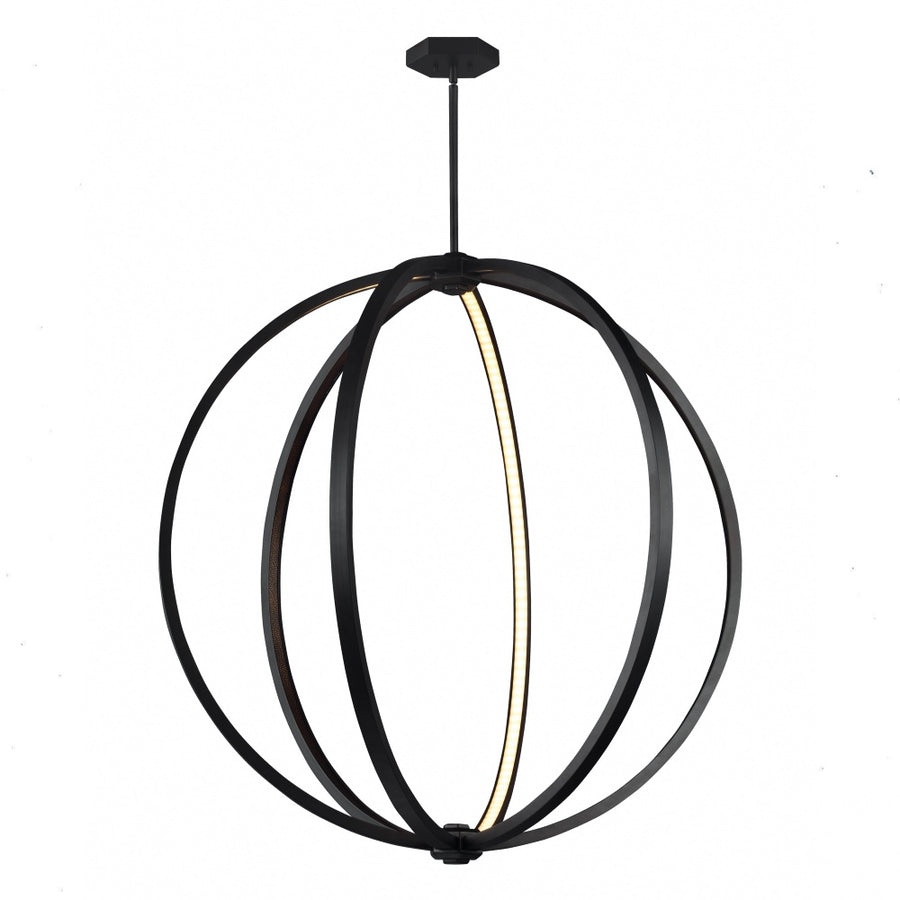 Khloe Medium LED Globe Pendant
