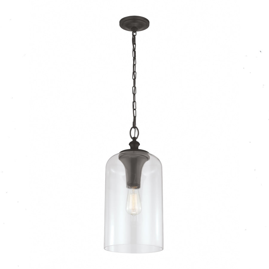 Hounslow Clear Glass Pendant