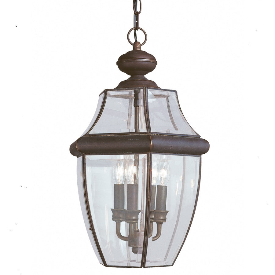 Lancaster Three Light Outdoor Pendant
