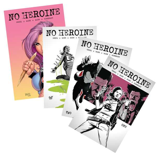 No Heroine Second Printing Set + Variant