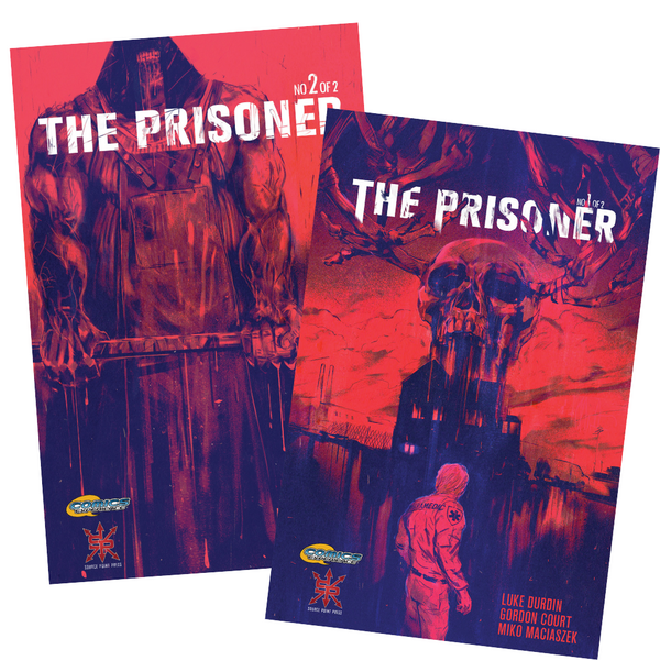 The Prisoner Floppy Set + Variant Cover