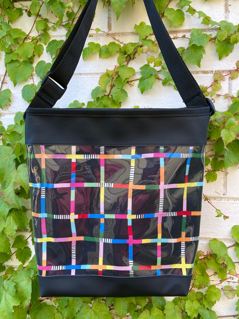 Myra Bag - Rainbow Network Black