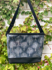 Carmie Bag - Tree Of Life Grey