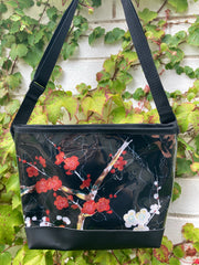 Carmie Bag - Golden Garden Black