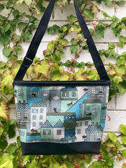 Carmie Bag - Cat On A Hot Tiled Roof Blue