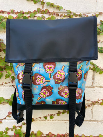 Backpack/ Shoulder Bag -  Bubble-O-Bill Mega