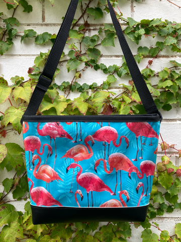 Carmie Bag - Flamingos
