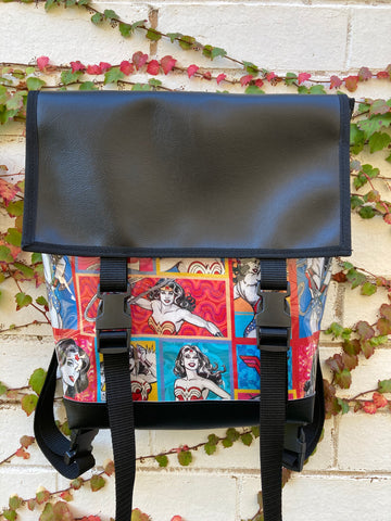 Backpack/ Shoulder Bag - Wonder Woman