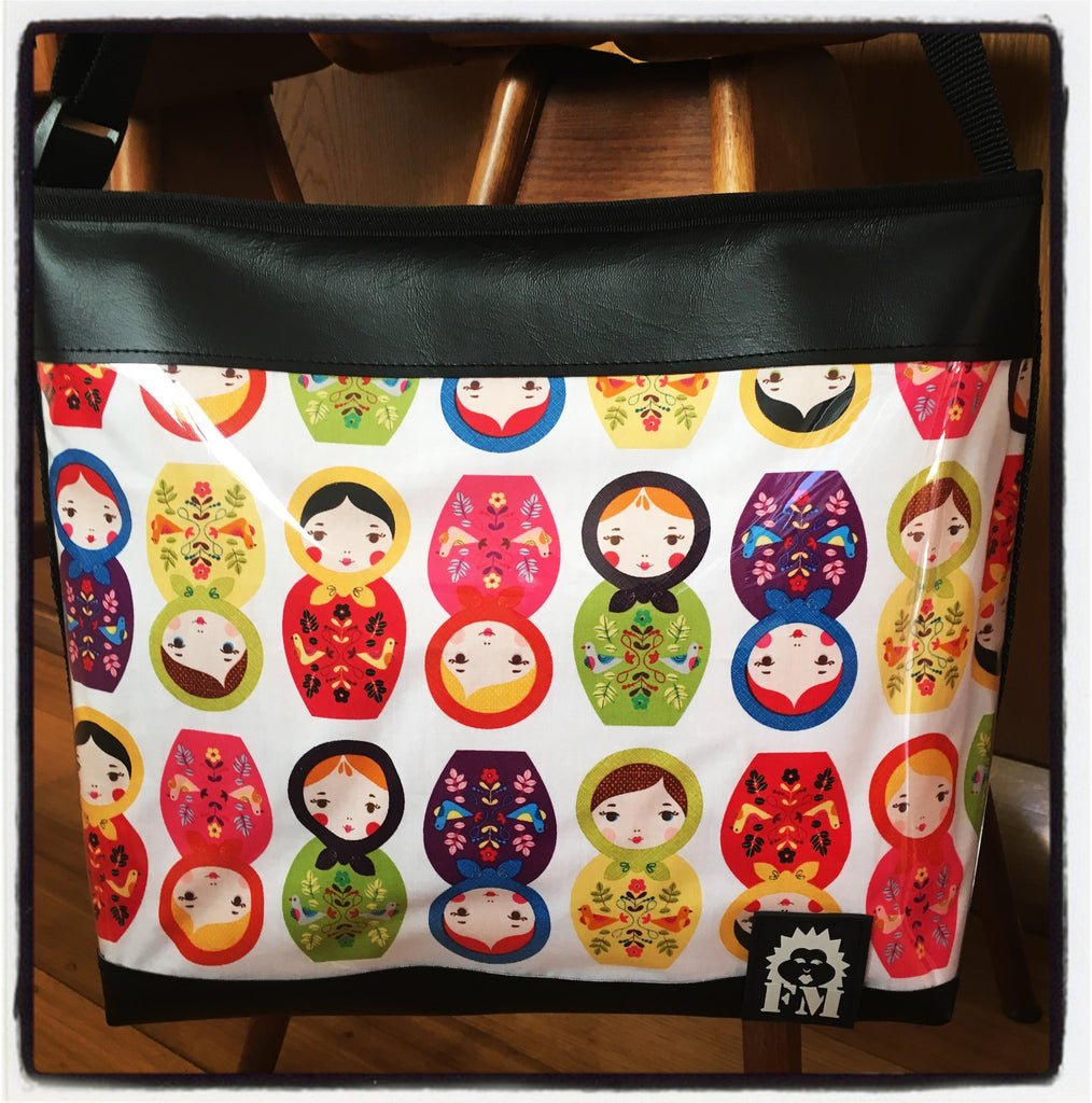 Zip-Up Tote Bag - Little Kukka