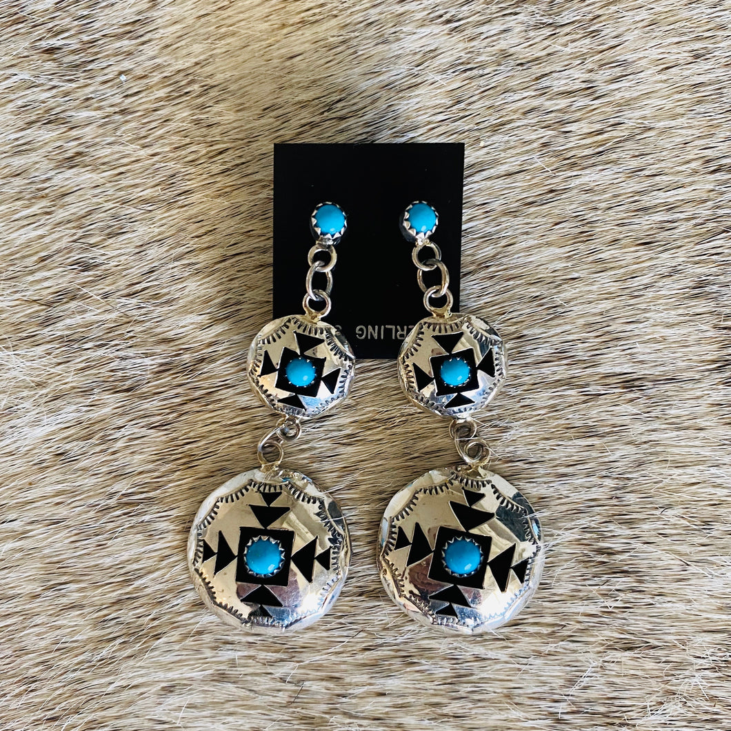 Tiered Earrings