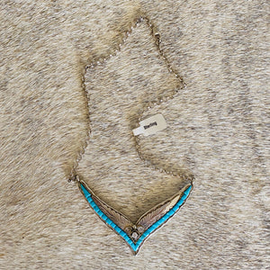 Sweetheart Turquoise Necklace