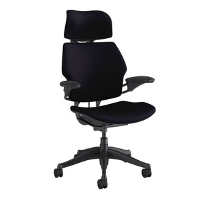 Freedom Task Chair with Headrest - Black