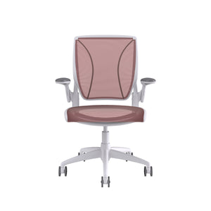 World Task Chair - White/Red