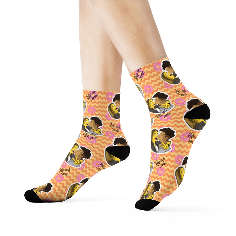 Yellow Figure Socks - Your version