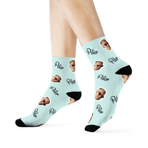 Your face on your sock - Happy Moments