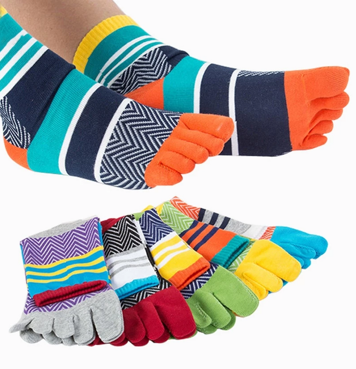 5 Pack of Five Finger Socks