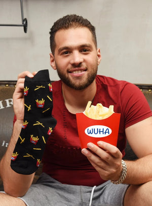 Men's Happy Socks - Food