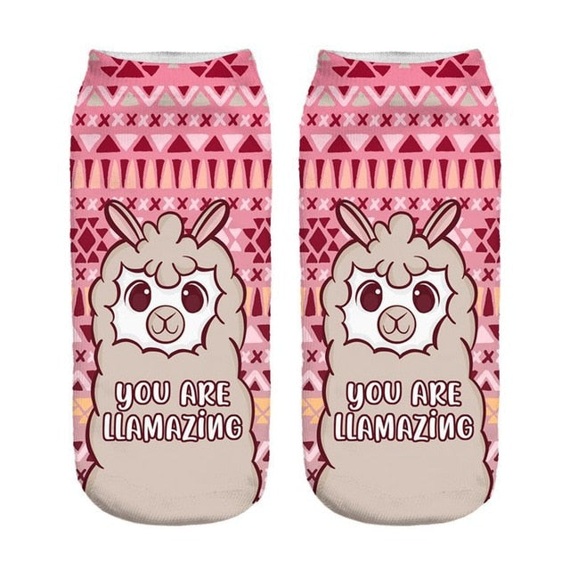Llama Buy these Socks