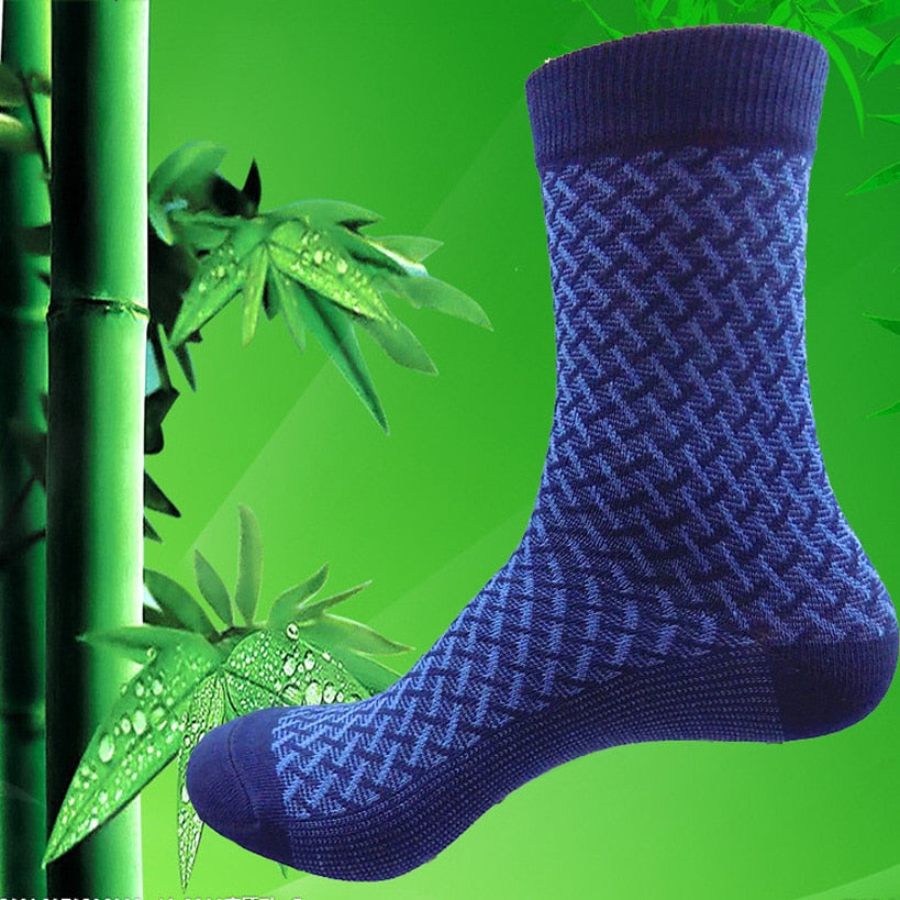 5 Pack Elite Business Socks - Bamboo Fiber