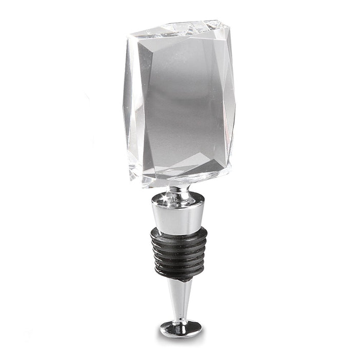 Occasion Gallery®  Optical Crystal Vertical Rectangular Wine Stopper