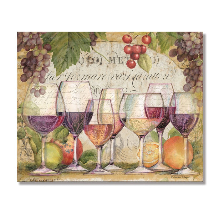 Occasion Gallery®  Wine Country Glass Cutting Board