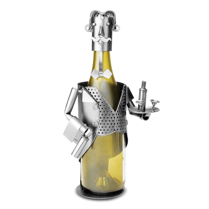 Occasion Gallery®  Maitre 'D Metal Wine Caddy