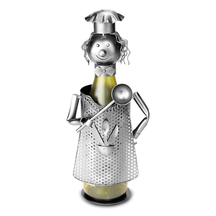 Occasion Gallery®  Cook w/Ladle Metal Wine Caddy