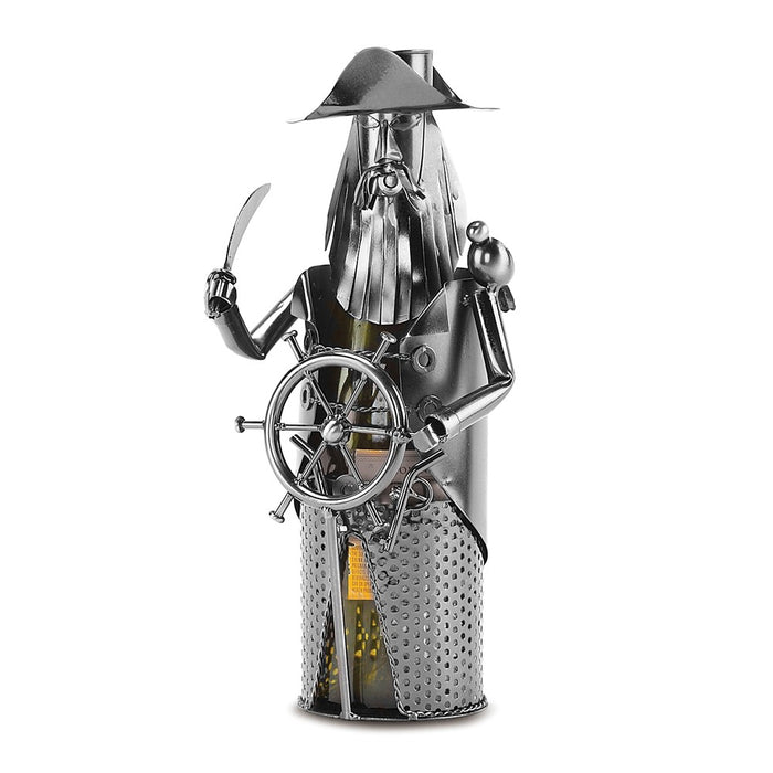 Occasion Gallery®  Pirate Metal Wine Caddy