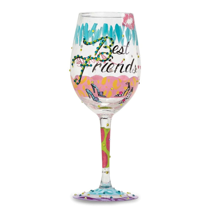 Lolita® Best Friends Always Wine Glass