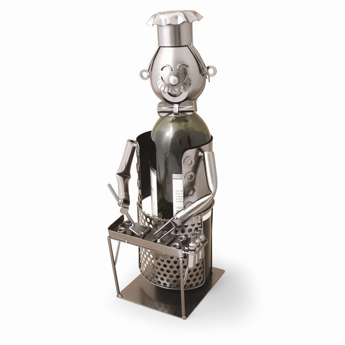 Occasion Gallery®  Grill Master Metal Wine Caddy