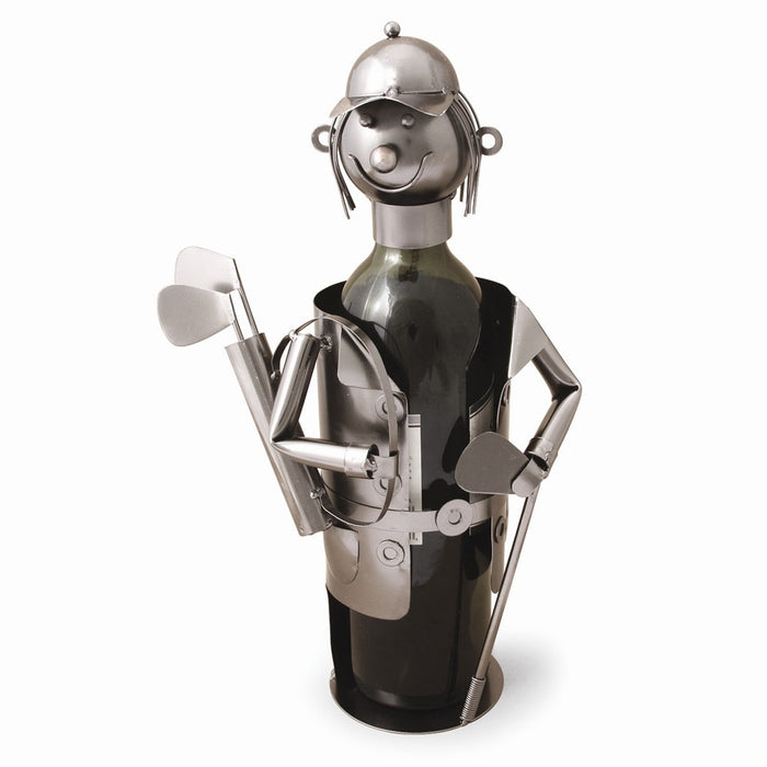 Occasion Gallery®  Golfer Metal Wine Caddy