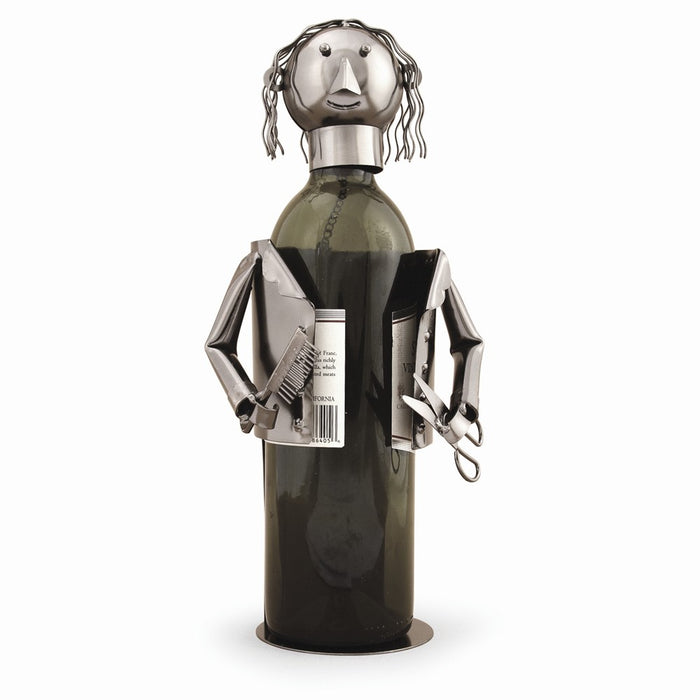 Occasion Gallery®  Barber/Hairdresser Metal Wine Caddy