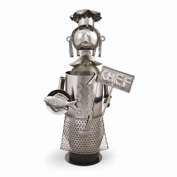 Occasion Gallery®  Chef Metal Wine Caddy