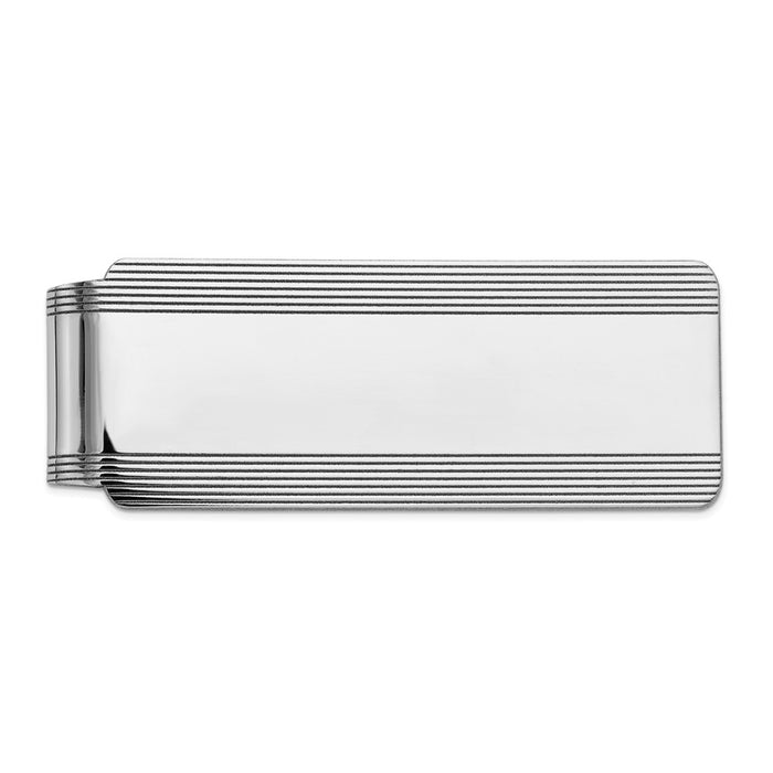 Occasion Gallery, Men's Accessories, 14k White Gold Money clip
