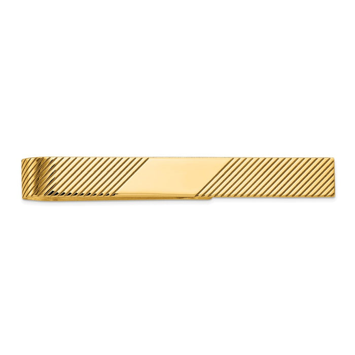 Occasion Gallery, Men's Accessories, 14k Yellow Gold Tie Bar