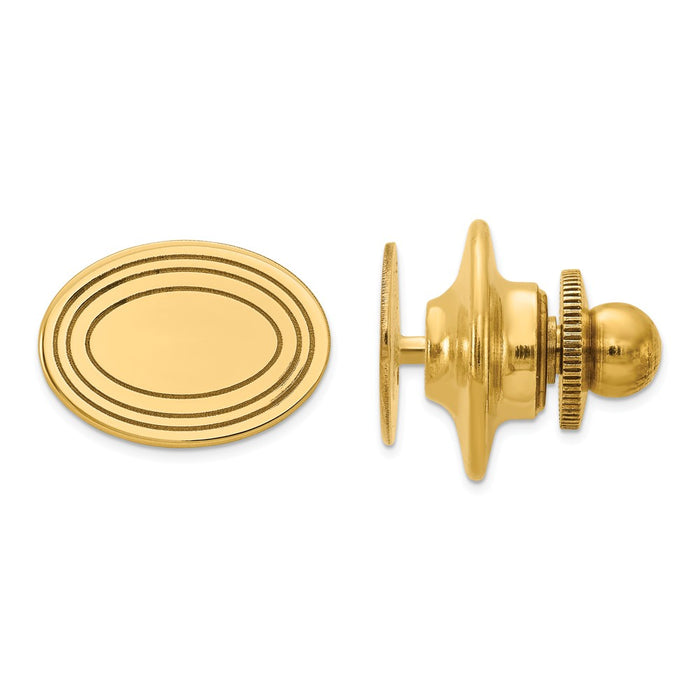 Occasion Gallery, Men's Accessories, 14k Yellow Gold Tie Tac