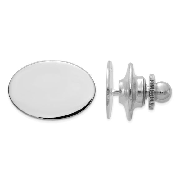 Occasion Gallery, Men's Accessories, 14k White Gold Tie Tac
