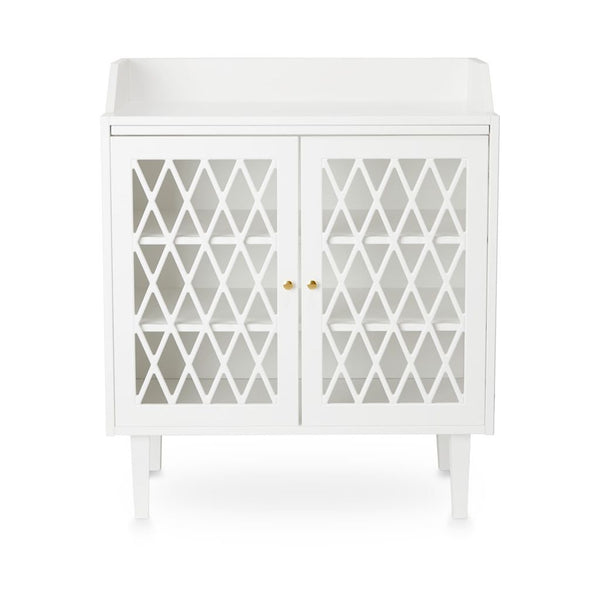 HARLEQUIN CHANGING TABLE WHITE