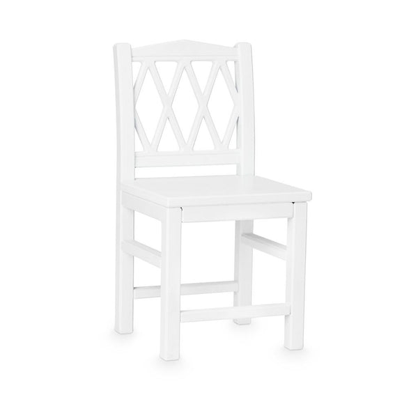 HARLEQUIN KIDS CHAIR WHITE