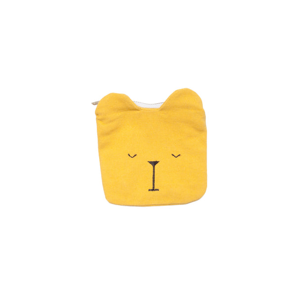 COIN POUCH LAZY BEAR HONEY
