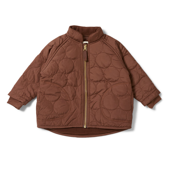 THERMO JACKET CRINKLE MOCCA