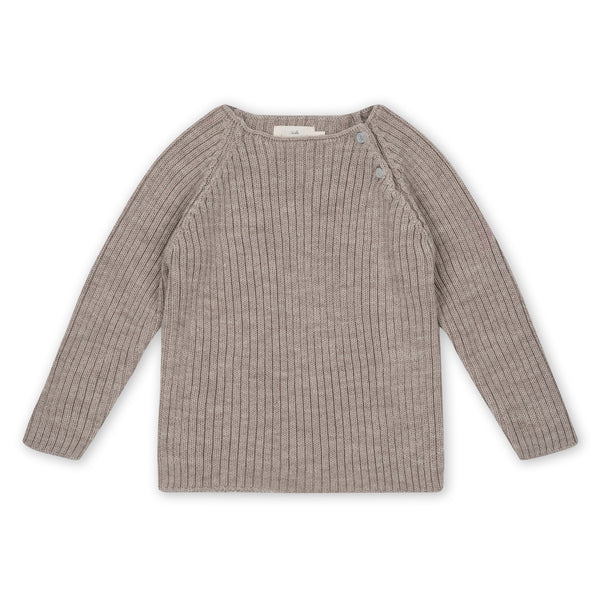 TOMA KNIT BLOUSE PALOMA BROWN