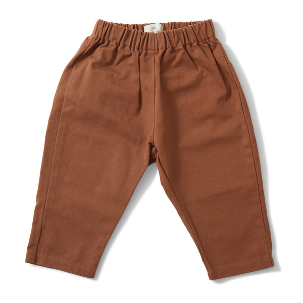 ADINE PANTS FADED BROWN