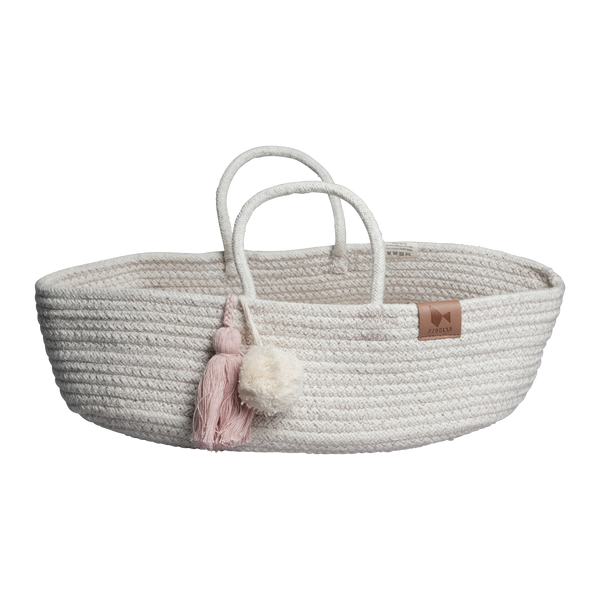 ROPE DOLL BASKET MAUVE