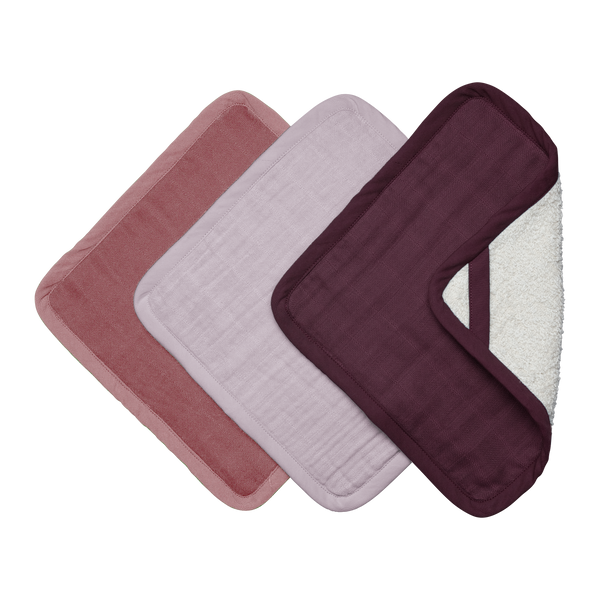 WASHCLOTH 3 PACK BERRY