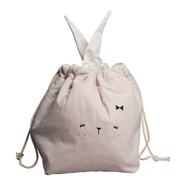 STORAGE BAG SMALL BUNNY MAUVE